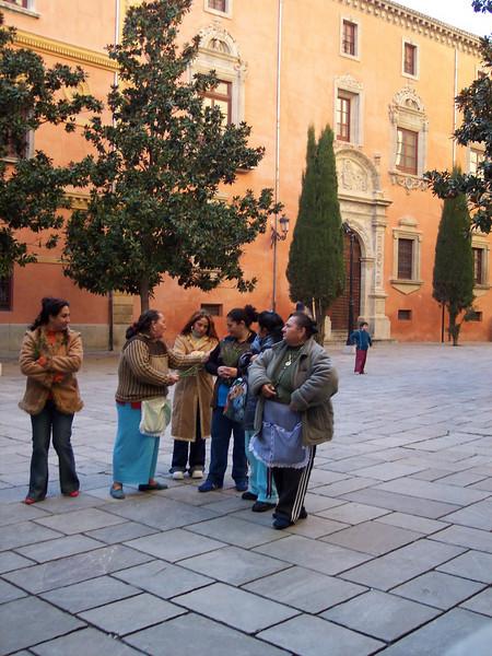 Granada. Gitanas