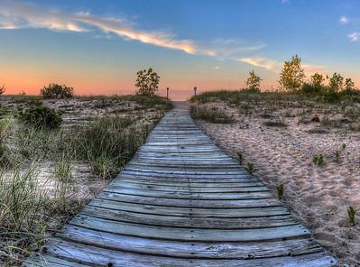 Shorelines of Michigan