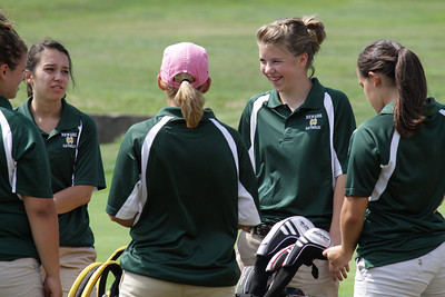 Granville at Newark Catholic Girls Golf 8-24-11