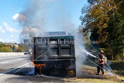 20201022 - City of Mount Juliet - Truck Fire