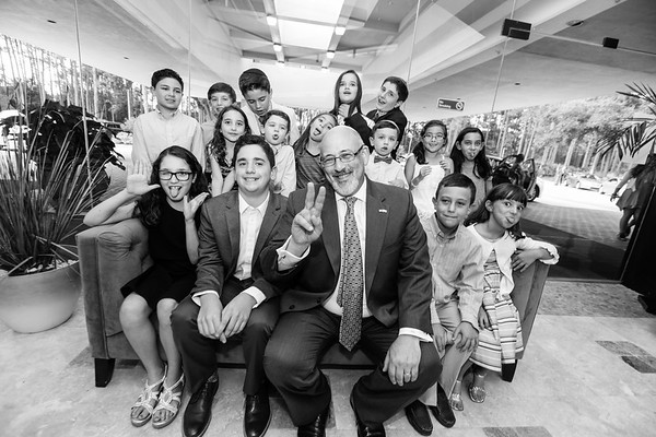 Jacob Selevan's Torah & Family Portraits, Jacksonville Jewish Center