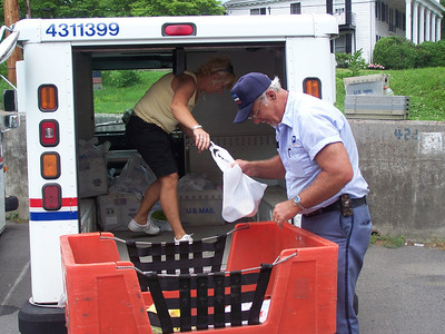 2011,  Letter Carriers Food Drive