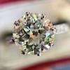 2.03ct Art Deco Transitional Cut Diamond Solitaire 13