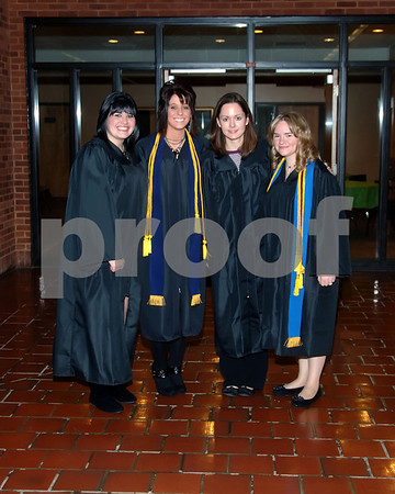 Murray State University Nurses Pinning Ceremony December 10, 2010.