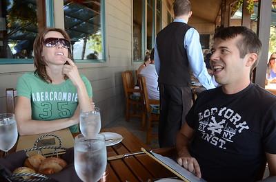 D and Mari Clark wedding in Tahoe