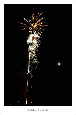 Easter Compton Fireworks 2006