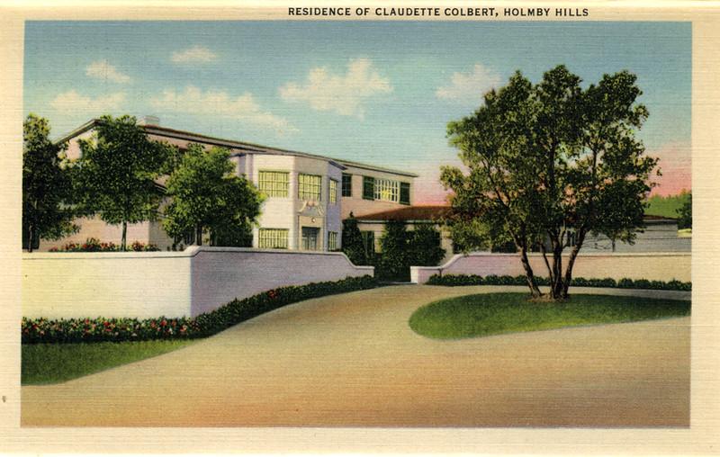 Residence of Claudette Colbert