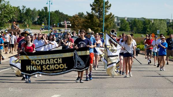 Monarch High School Marching Band 2021-2022