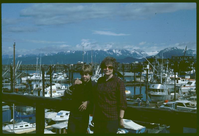 Russ & Bonnie, Boat Harbor, Seward, AK,   08-1983,  2367x1581 8-19-2007 11-15-3.jpg