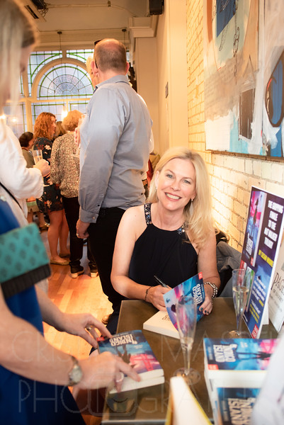 Susan Moore - book launch