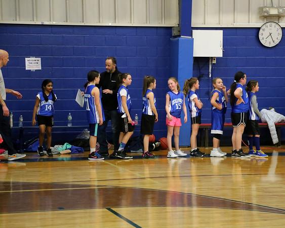 1-5-18 4th Grade Girls Lightning vs. Ridgewood
