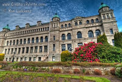 Victoria, BC - Legislative Buildings