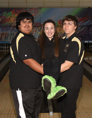 Falcon Bowlers vs P. Amboy, Jan. 3, 2013 at Carolier Lanes