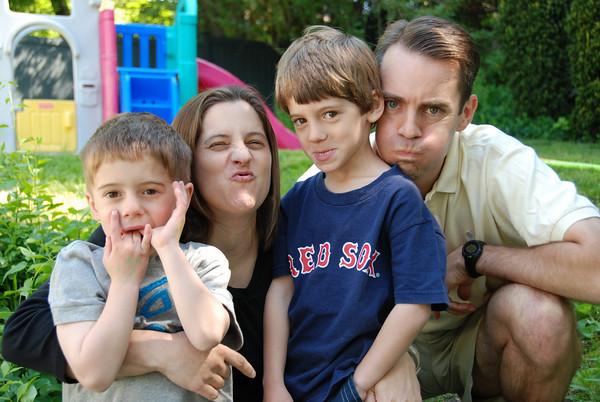 Whitney Family, May 2010