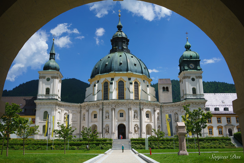 Ettal Abbey, Etal, Bavaria