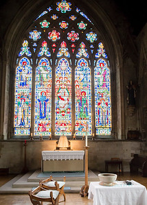 Christening at St Etheldreda's Church in London