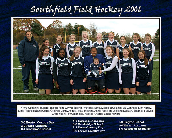 Southfield Field Hockey Special Requests