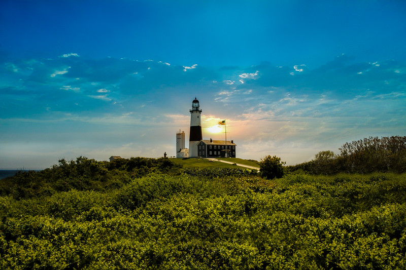 Montauk Light House, Alex Kaplan Photo