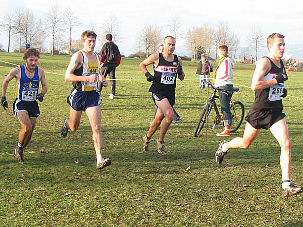 2005 Canadian XC Championships - PIH teammates Jones and Milne