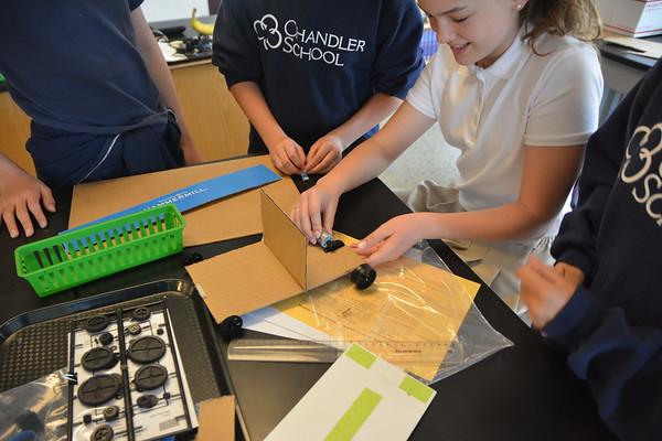 Sixth Grade Solar Cars