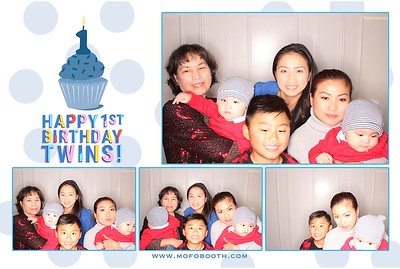 Tran Twins' 1st Birthday
