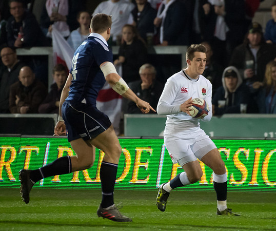England Under 20s vs Scotland U20s, U20s Six Nations, Franklin's Gardens, 11 March 2017