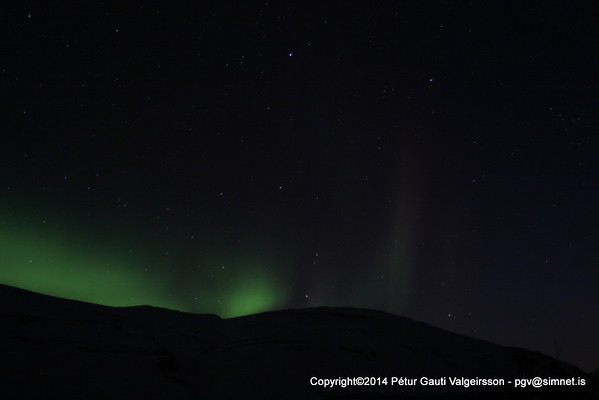 Winter and Norther Lights Photography