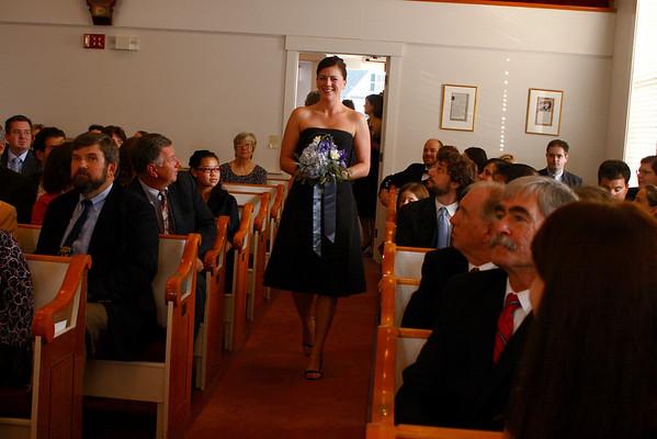 Wedding Ceremony at Melvin Village Community Church