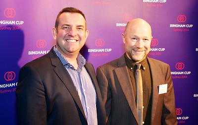 Bingham Cup 2014 Launch Aug 28 2013