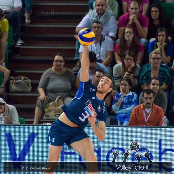 Simone Parodi [ITA] battuta - Italia-Iran, World League 2013 - Modena