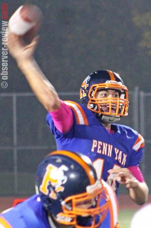 Penn Yan Football 10-4-13
