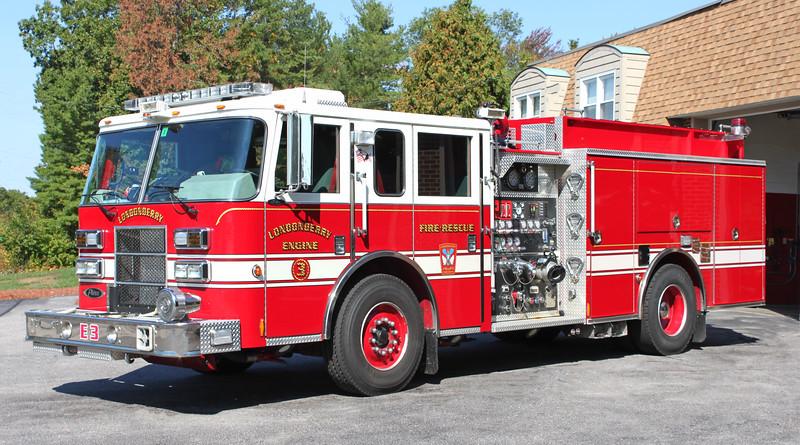 Retired   Engine 3.  2006 Pierce Saber.  1250 / 1000