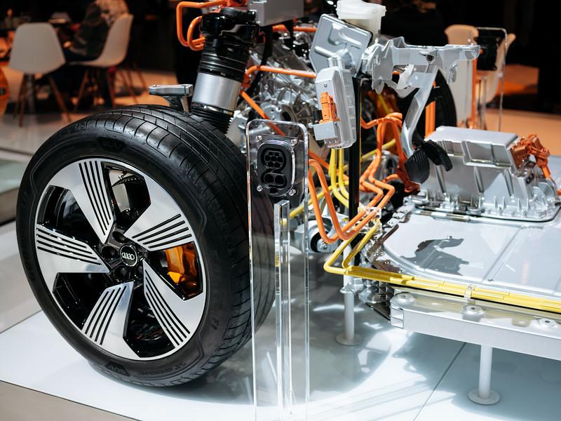 Audi E-Tron transmission - Samuel Zeller for the New York Times