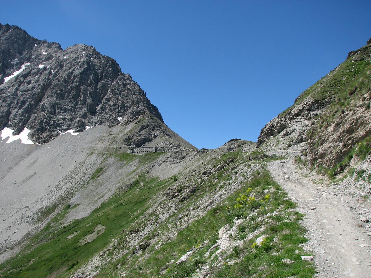 het fort naast Passo Mulatierra