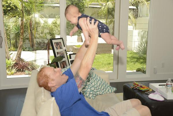 Glenn Bonding with Aria