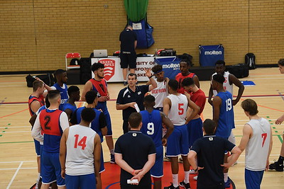 Great Britain Under-20 Men Training Camp 2017