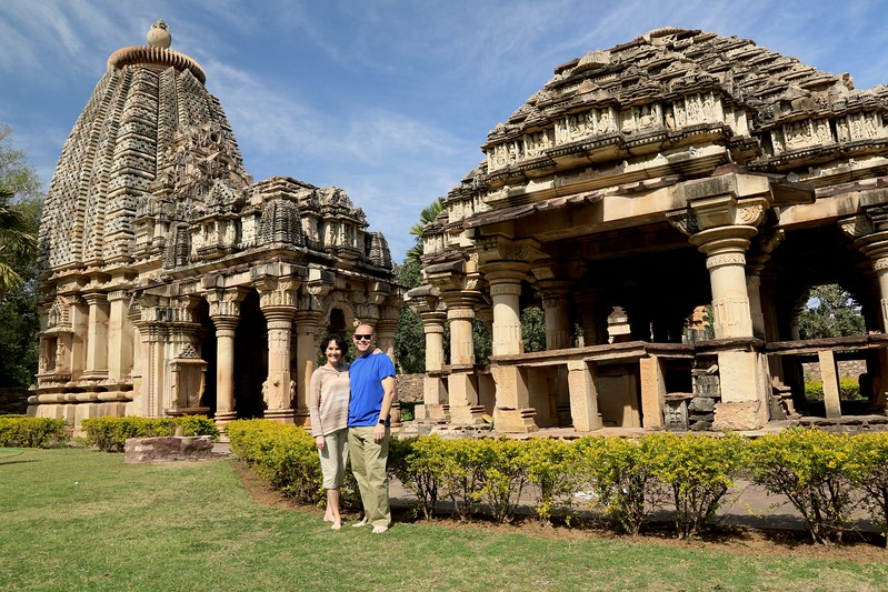 The Baroli Temples Complex - built in the Pratihara style of temple architecture dates to the 10th century A.D.