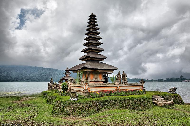 Pura Ulun Danu Temple, Lake Bratan, Bali