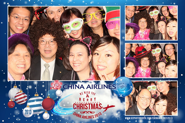 China Airlines Xmas Party 2013