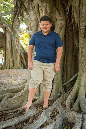 2019.01.12 - Lopez Family Portraits, Banyan Trees, Venice Ave, Venice Beach, FL