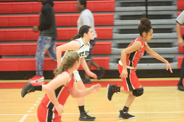 NE JV Girls Baskeball vs St. Pete 12-8-17