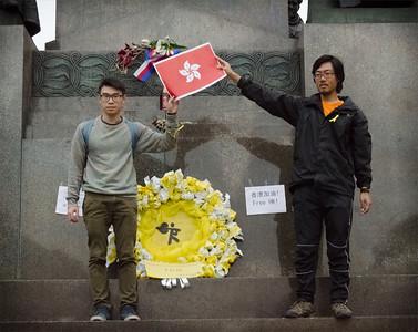 Solidarity with Hong Kong - Prague Demonstration
