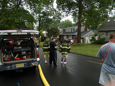 08-16-10 Emerson, NJ - Working Fire