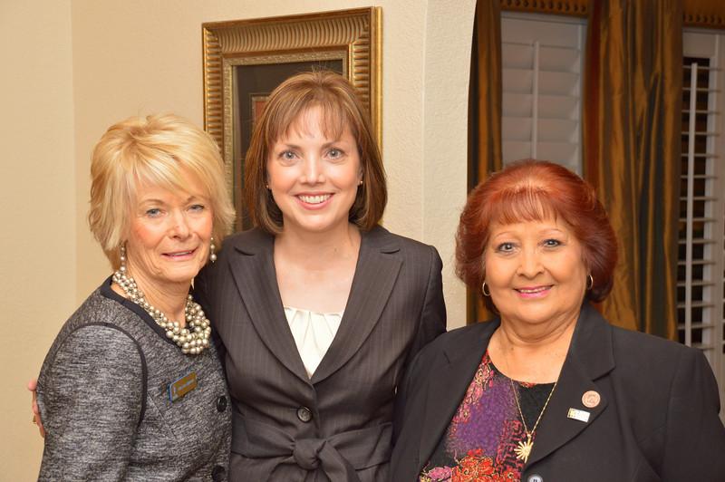 Jan Lee Sproat, Dianne Witt and Rita Brock-Perini