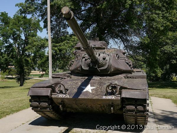 Steinhart Park - Nebraska City, NE - M60A3