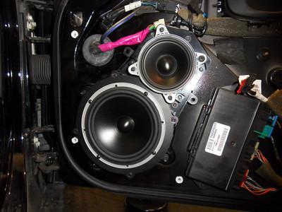 Corvette Speaker Installations