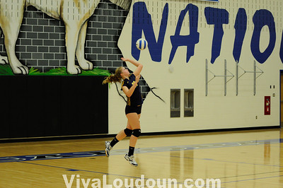 JV Volleyball: Tuscarora vs Loudoun County 10-14-10 (By Chris Anderson)