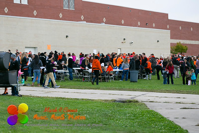 Homecoming 2014, before the game