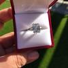 3.76ctw Emerald Cut Diamond Ring, by Leon Mege GIA H VS 14