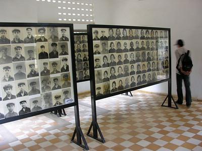 Cambodia: Phnom Penh: Tuol Sleng Genocide Prison 2005